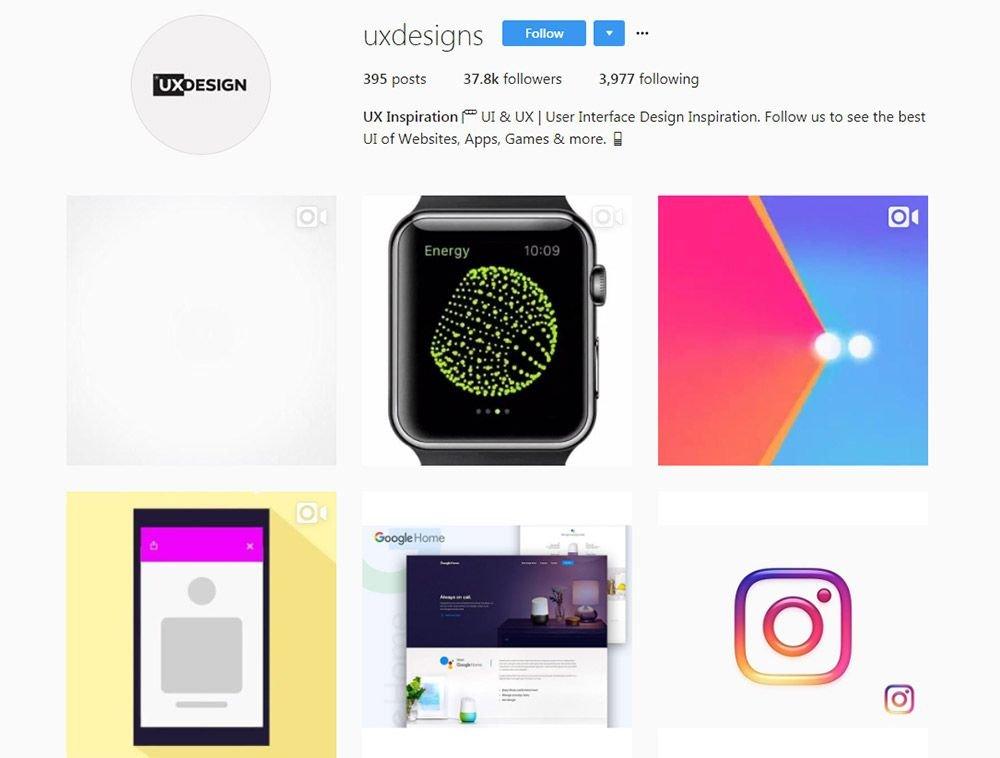 id instagram cho uxui 5