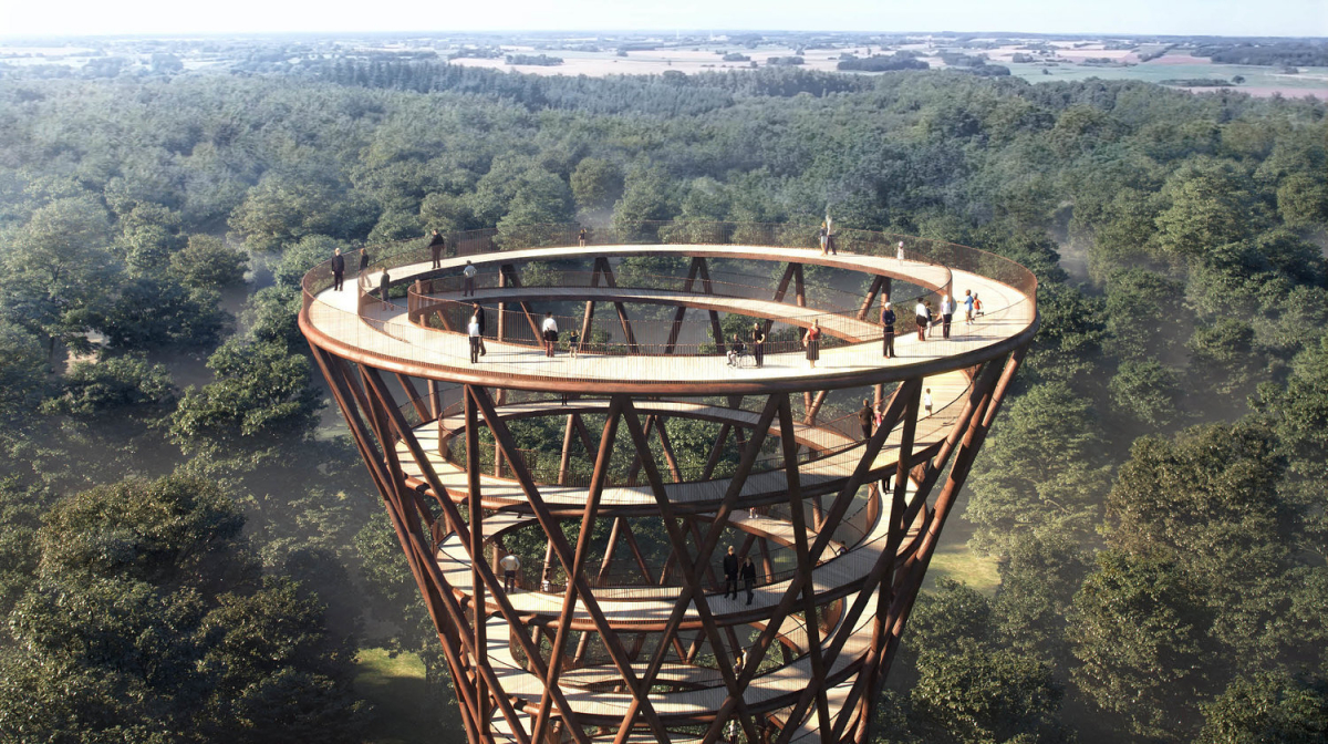 idesign architect denmark observation deck