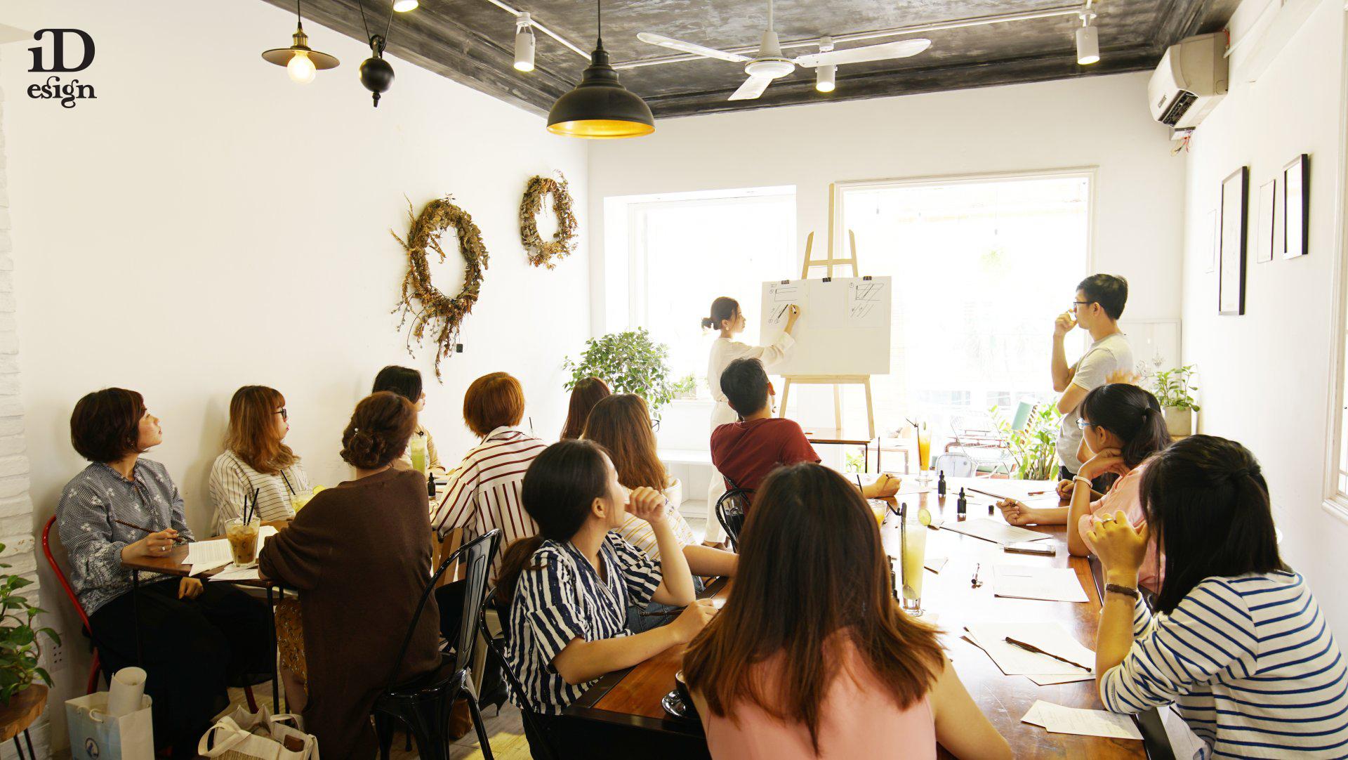 Duka Workshops: Tìm về sự bình yên qua nghệ thuật Calligraphy