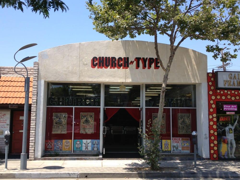 exterior church of type 1