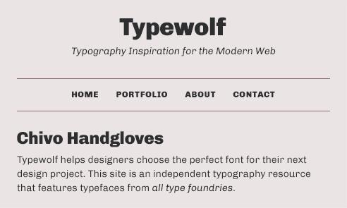 chivo-font-sample