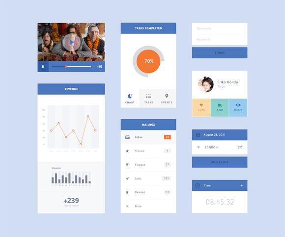 16-flat-UI-designs-download-free-PSD