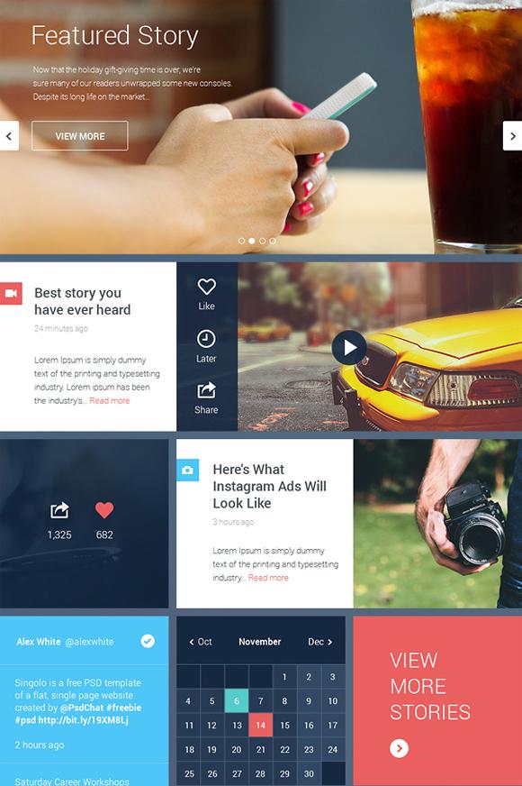 18-flat-UI-designs-download-free-PSD
