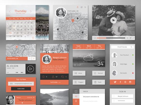 19-flat-UI-designs-download-free-PSD