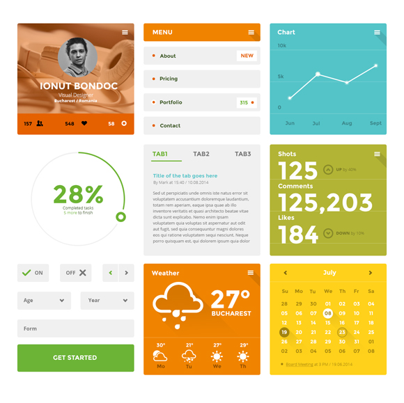 20-flat-UI-designs-download-free-PSD