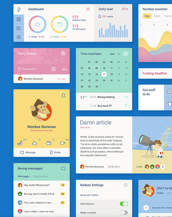 5-flat-UI-designs-download-free-PSD