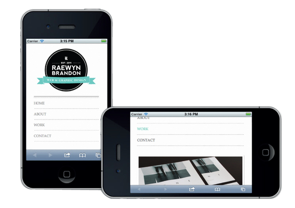 Raewyn-Brandon-Responsive-Portfolio-Website-iPhone
