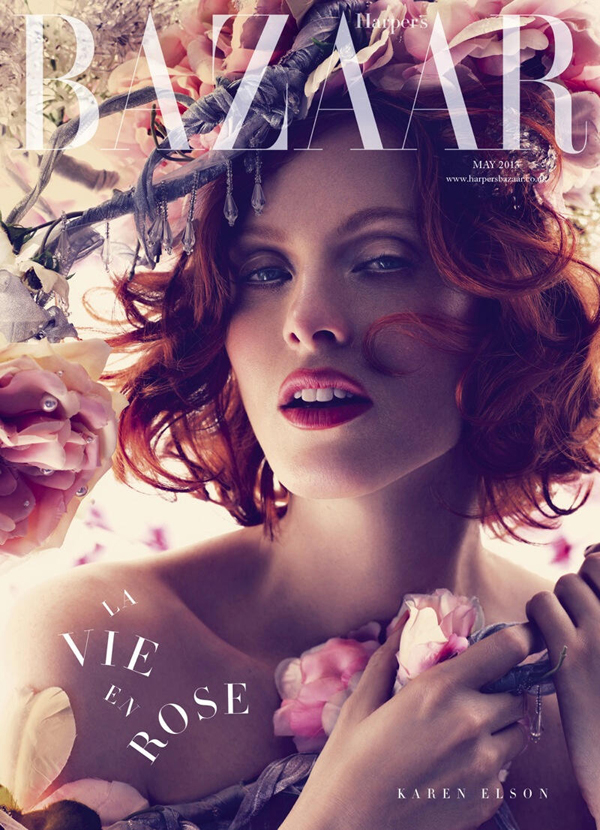 best-may-2013-magazine-covers-karen-elson-harpers-bazaar