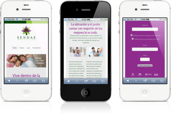 responsive-wordpress-web-design-sendas-iphone