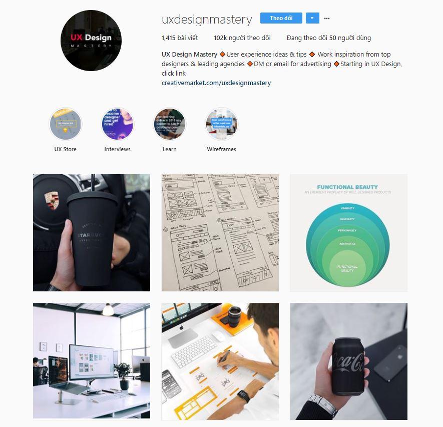 id instagram cho uxui 2