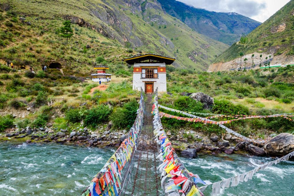 shutterstock 667317535 bhutan bridge
