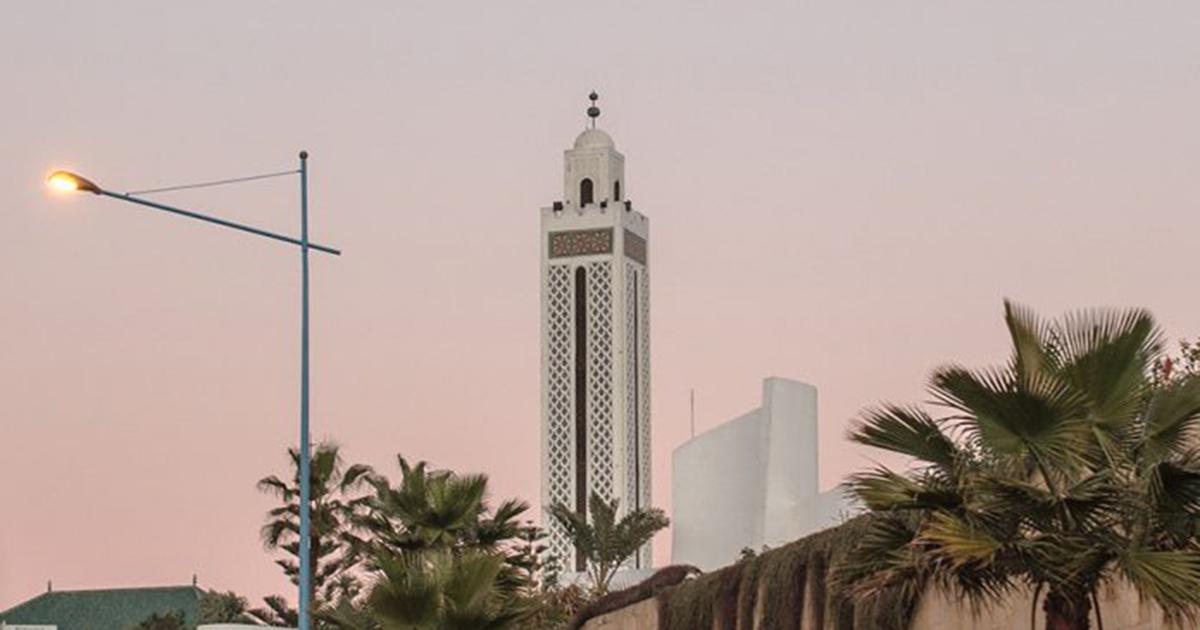 Dạo bước ở Casablanca trong một chiều hoàng hôn êm ả