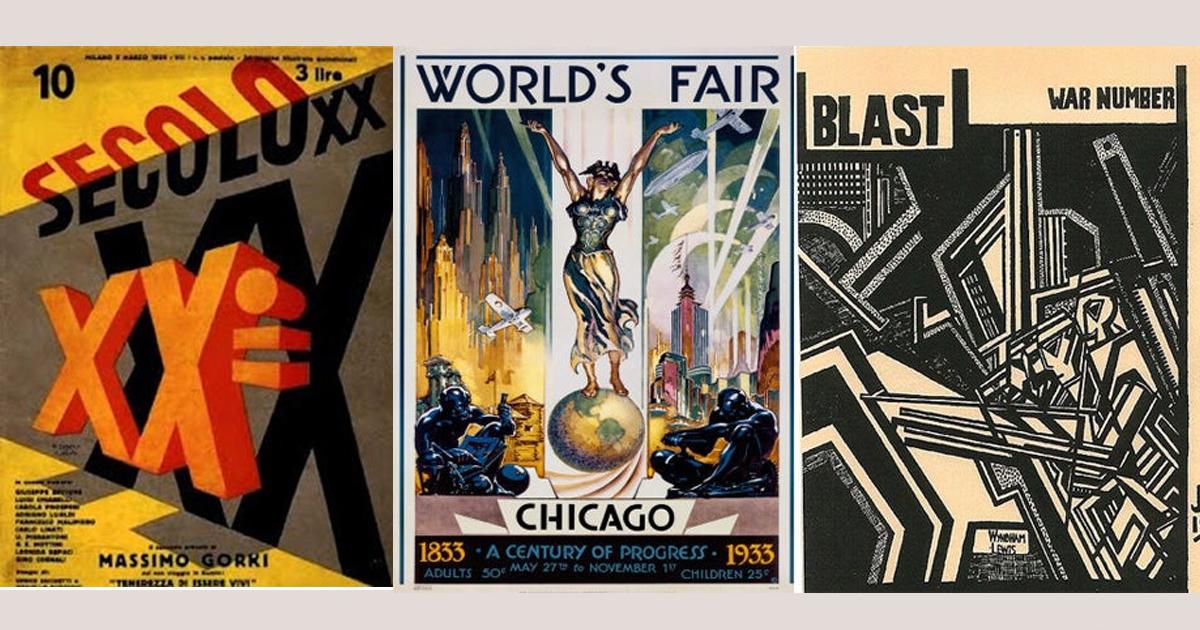 Chủ nghĩa vị lai ở Ý: Nguồn cảm hứng cho thiết kế đồ họa