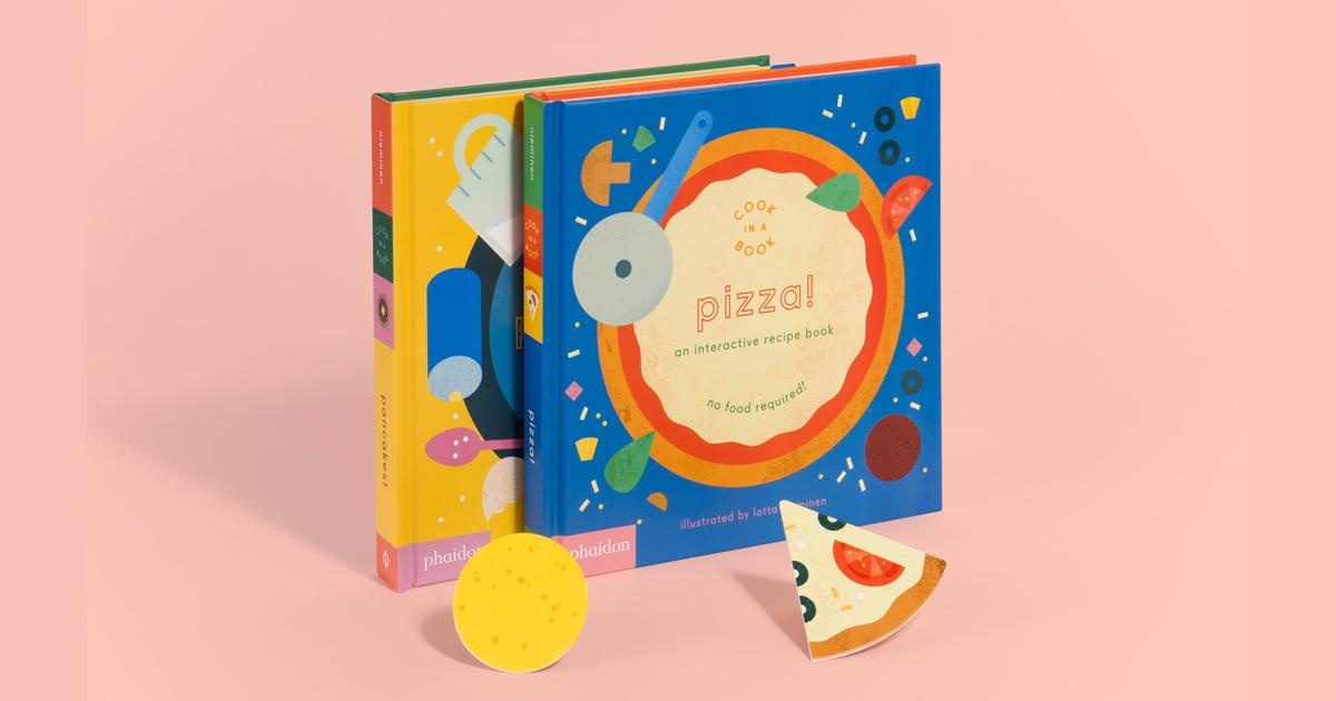 Cook in a Book - Cuốn sách minh hoạ vui nhộn công thức nấu ăn cho trẻ em