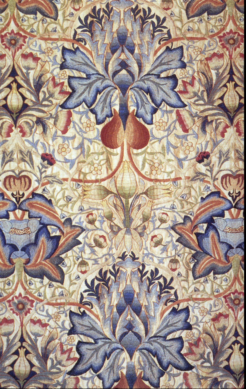 embroidered panel morris and company