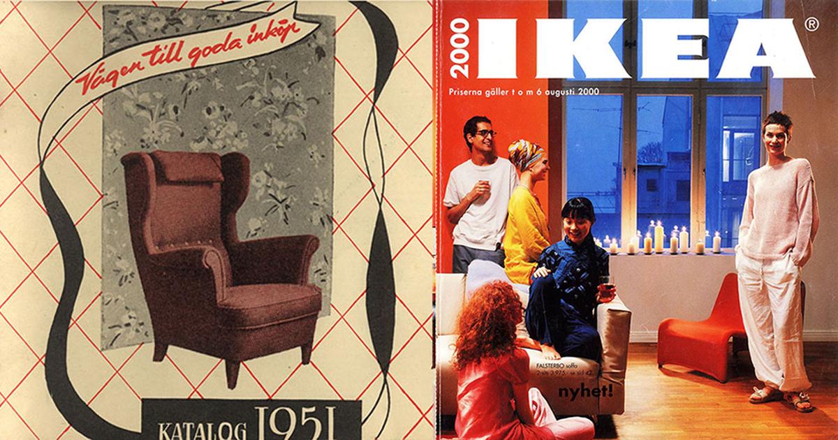Ngược dòng thời gian để xem lại những mẫu Catalog ấn tượng của IKEA