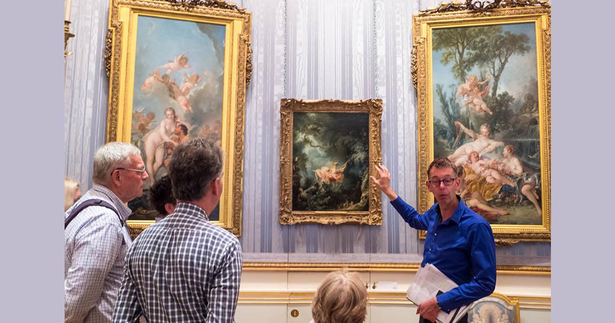 """Rococo - một phong trào nghệ thuật """"phù phiếm""""?"""