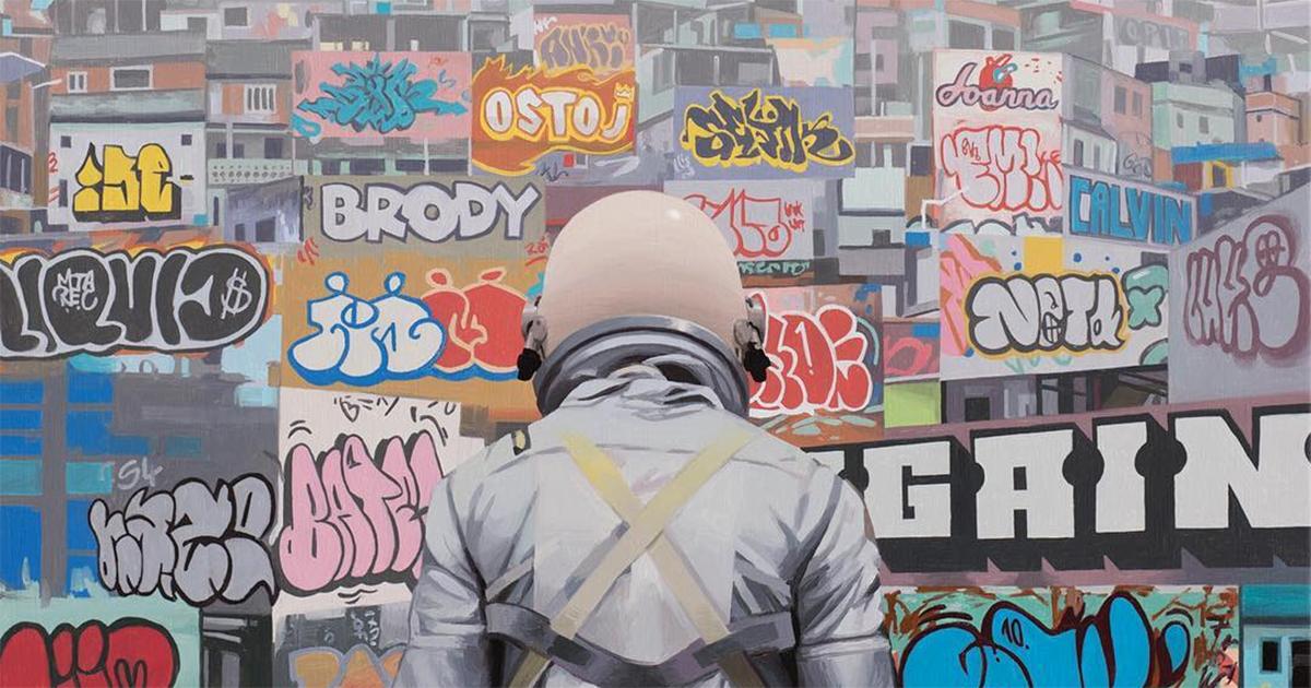 Nghệ sĩ của tuần: Scott Listfield - đánh thức u mê của loài người