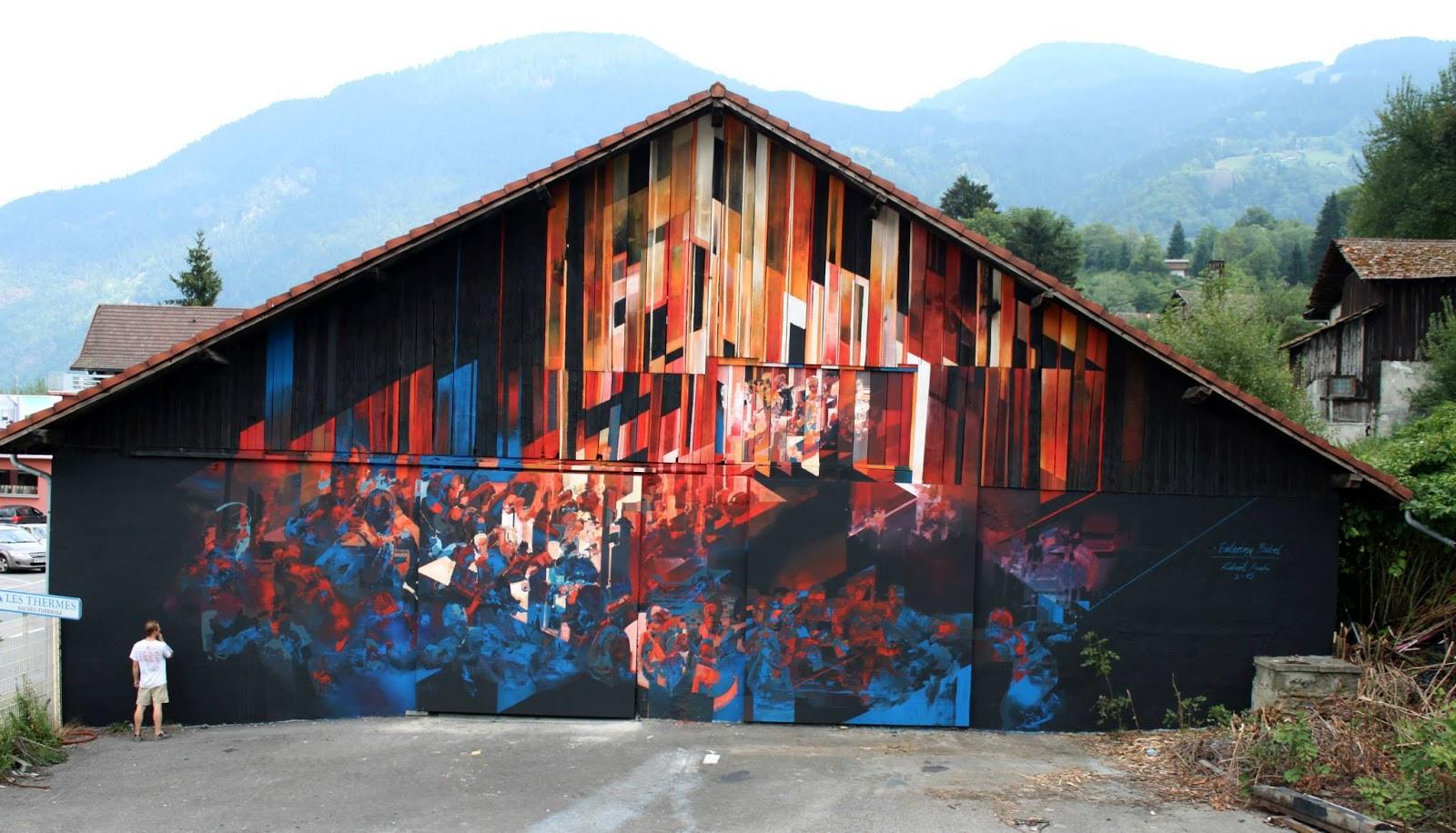 Nghệ sĩ của tuần: Robert Proch và những bức tranh tường ma mị
