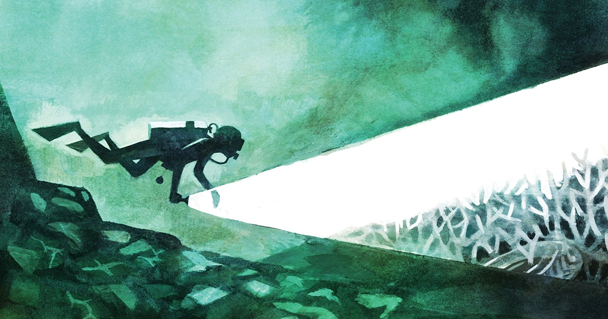 The Brilliant Deep: Câu chuyện minh họa về người đàn ông cứu rạn san hô thế giới bằng búa và keo