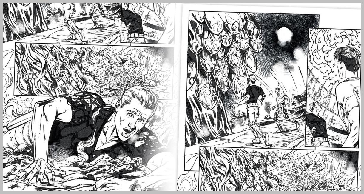 Hướng dẫn từng bước vẽ nên trang truyện tranh hấp dẫn |  Phần 1: Phác thảo sơ bộ