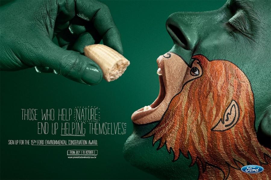 30 chiến dịch quảng cáo về môi trường gây chấn động dư luận
