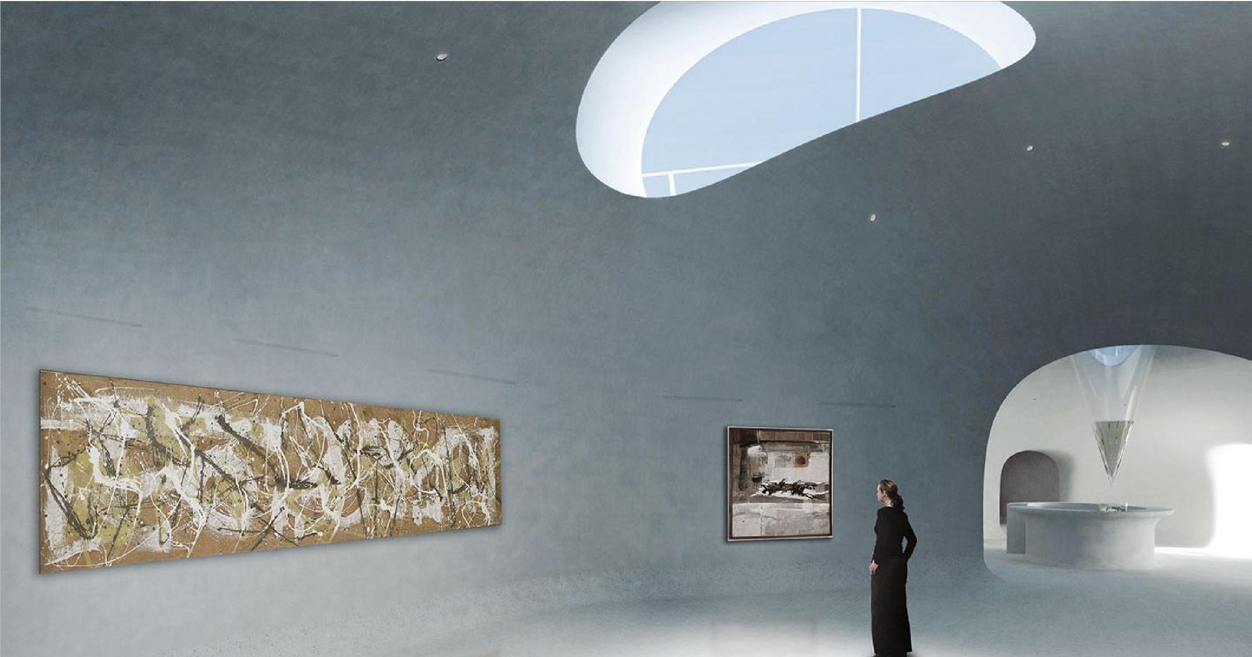 Cùng ngắm nhìn bảo tàng nghệ thuật trong đụn cát ở Trung Quốc