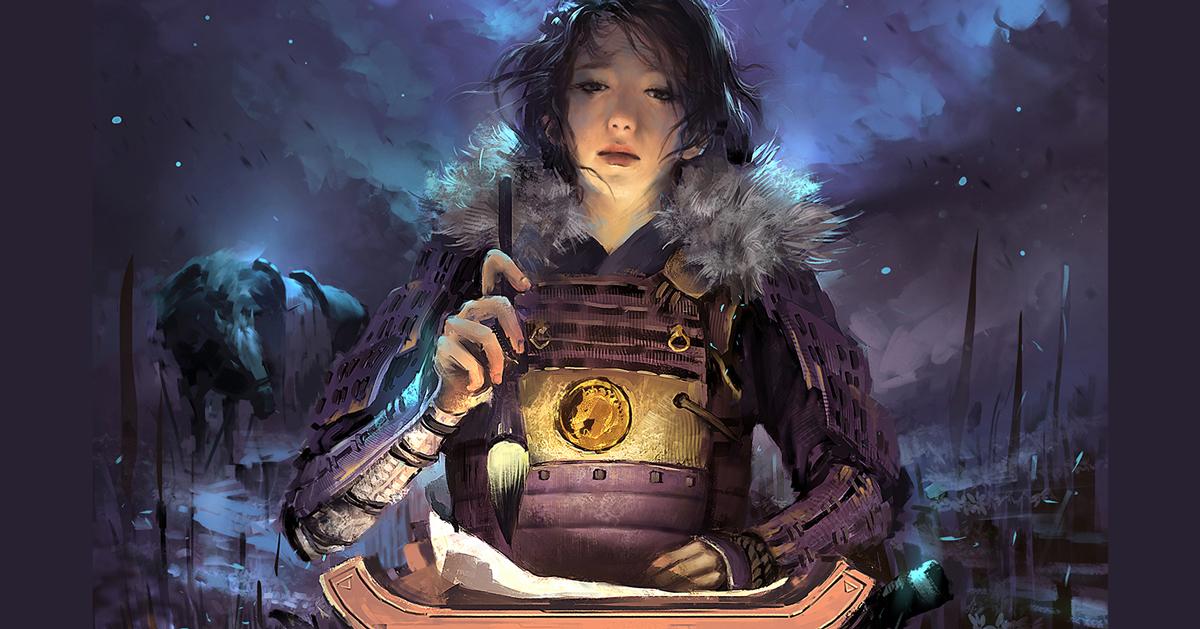 Chiêm ngưỡng concept nhân vật hào hùng của Emerald Empire of Rokugan
