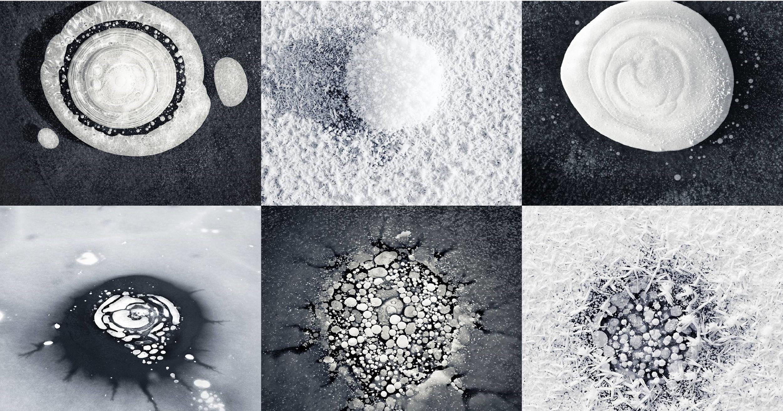 """Thông điệp """"vàng"""" phía sau vẻ đẹp lạ của bộ ảnh """"Ice Formations"""" tại Alaska"""
