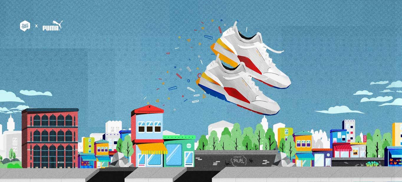Case Study: Quá trình phát triển video game thời thượng cho thương hiệu giày Puma