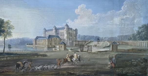 Thư viện lộng lẫy bên trong lâu đài cổ Chantilly tại nước Pháp thơ mộng