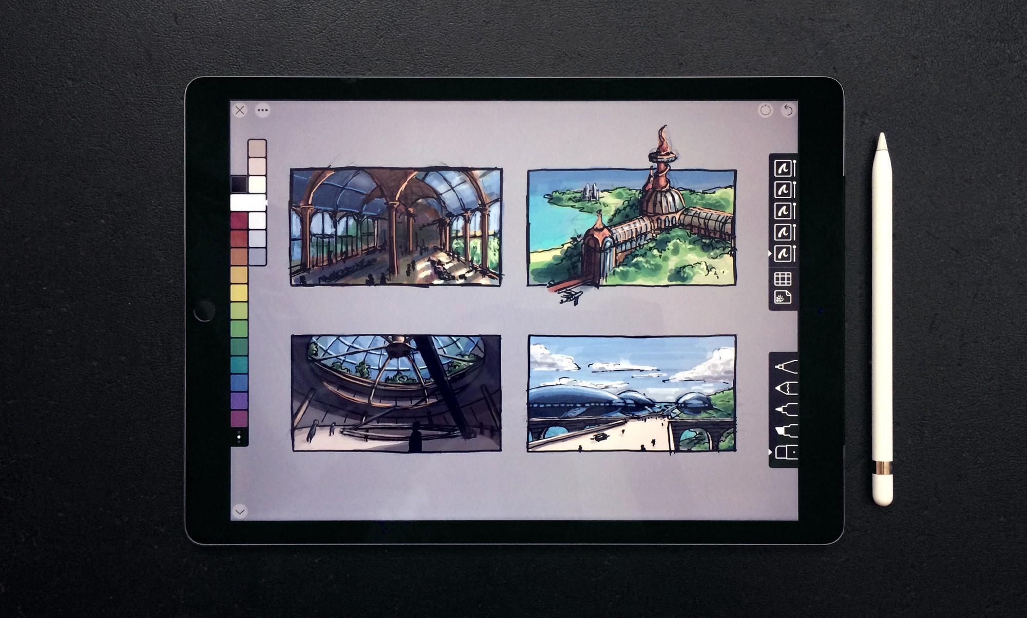 Cuộc sống của dân sáng tạo khác gì khi có iPad Pro và Apple Pencil?