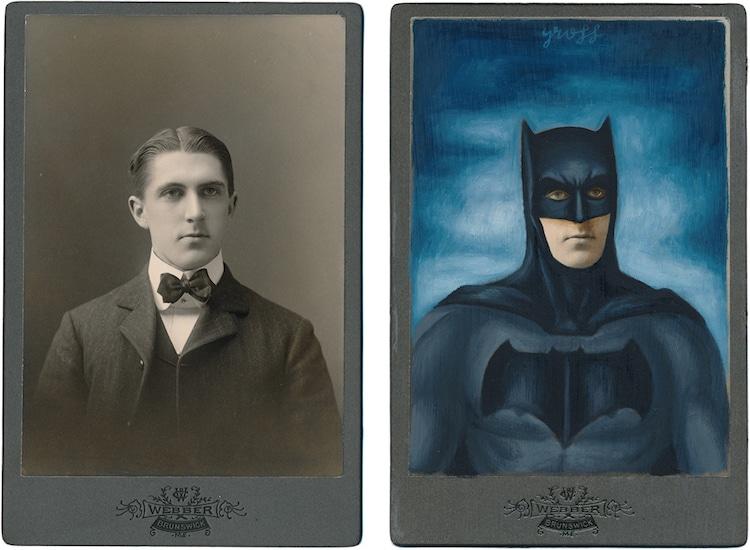 Khi những bức ảnh chân dung thời Victorian trở thành các nhân vật nổi tiếng.