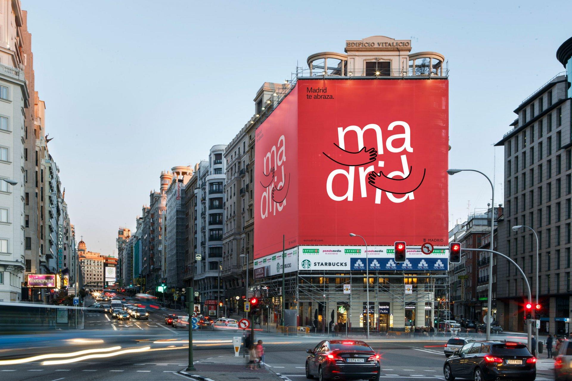 Errestre thực hiện bộ icon cho thành phố Madrid sôi động