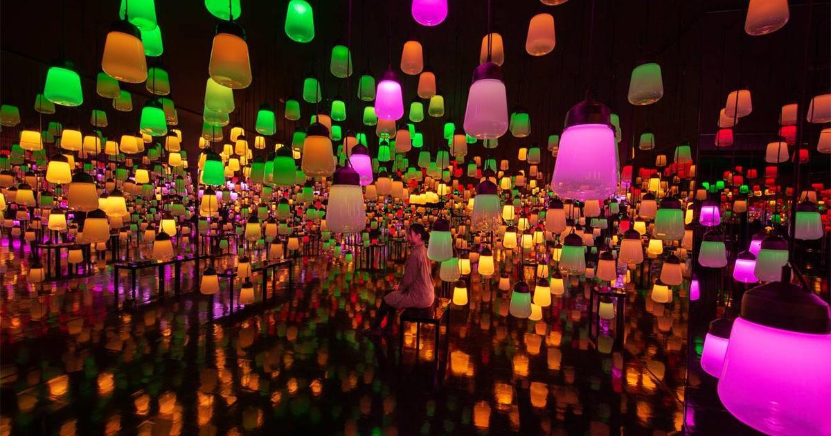 teamLab và sự mê hoặc từ nghệ thuật ánh sáng