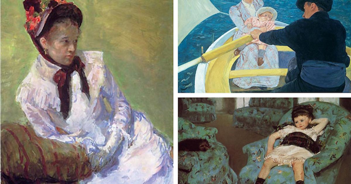 Mary Cassatt - Gương mặt nữ nghệ sĩ Ấn tượng trong lịch sử hội hoạ (P1)