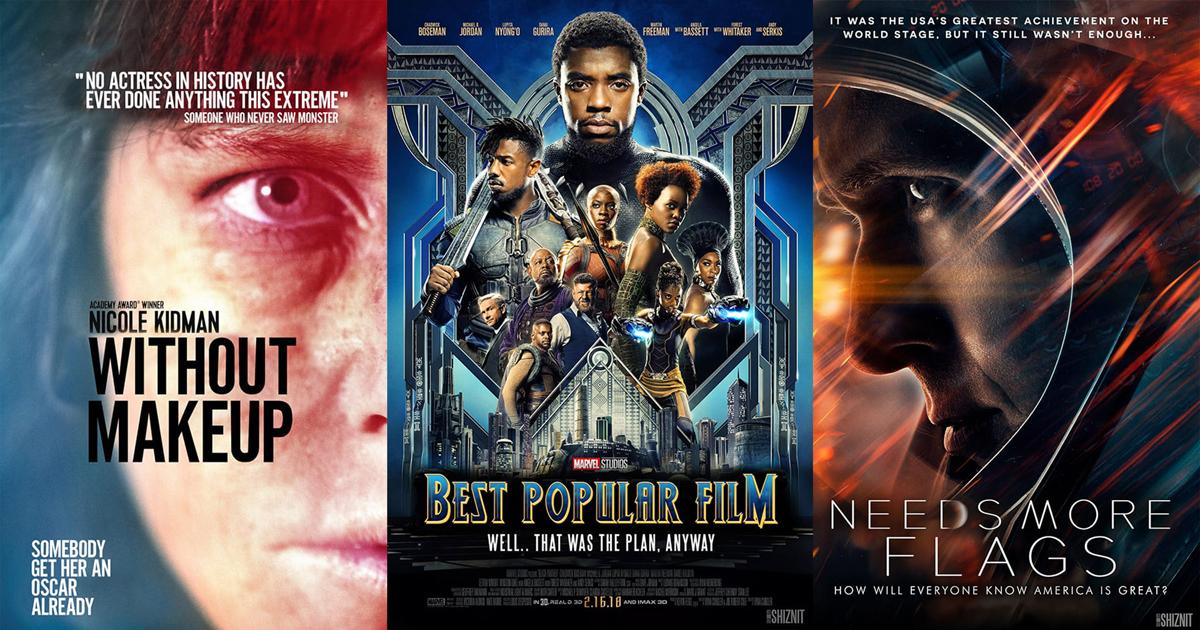12 poster phim đặc sắc từ danh sách đề cử Oscar 2019