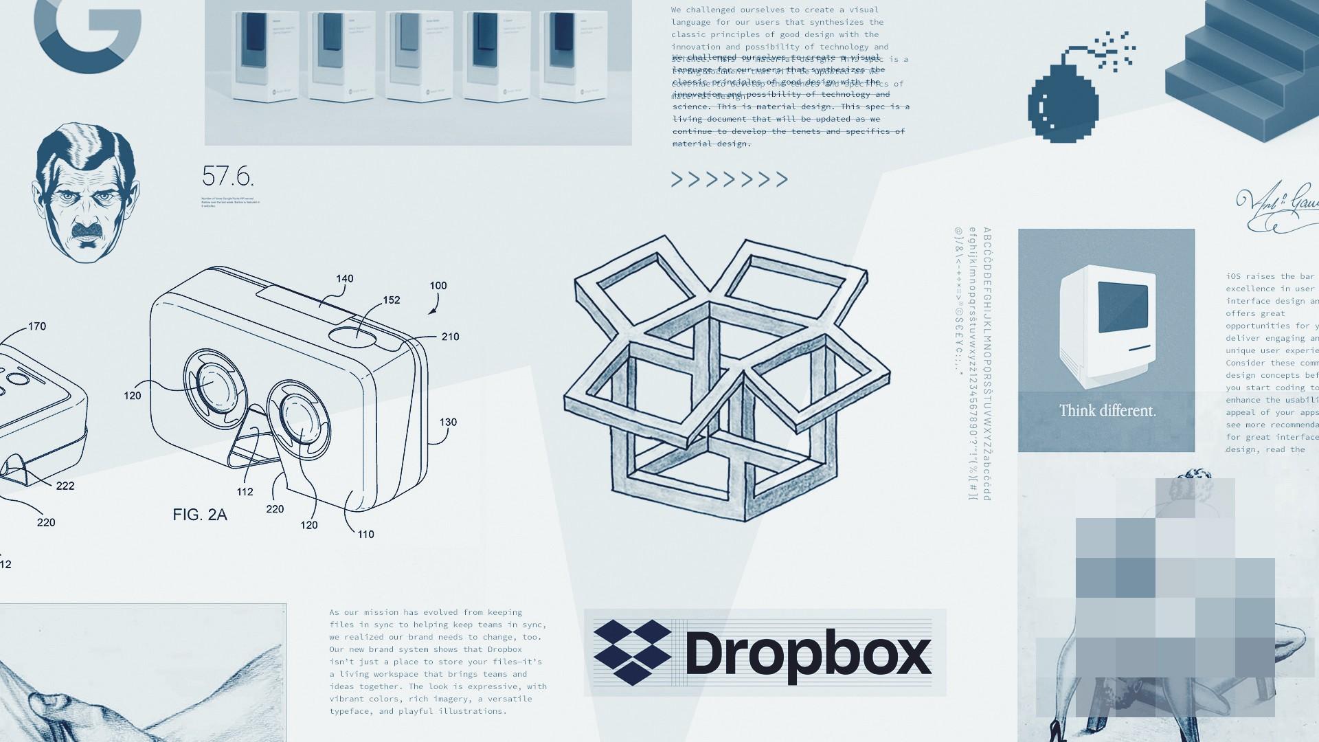 Diện mạo của Dropbox và chủ nghĩa Thô Mộc/Brutalism trong thiết kế web