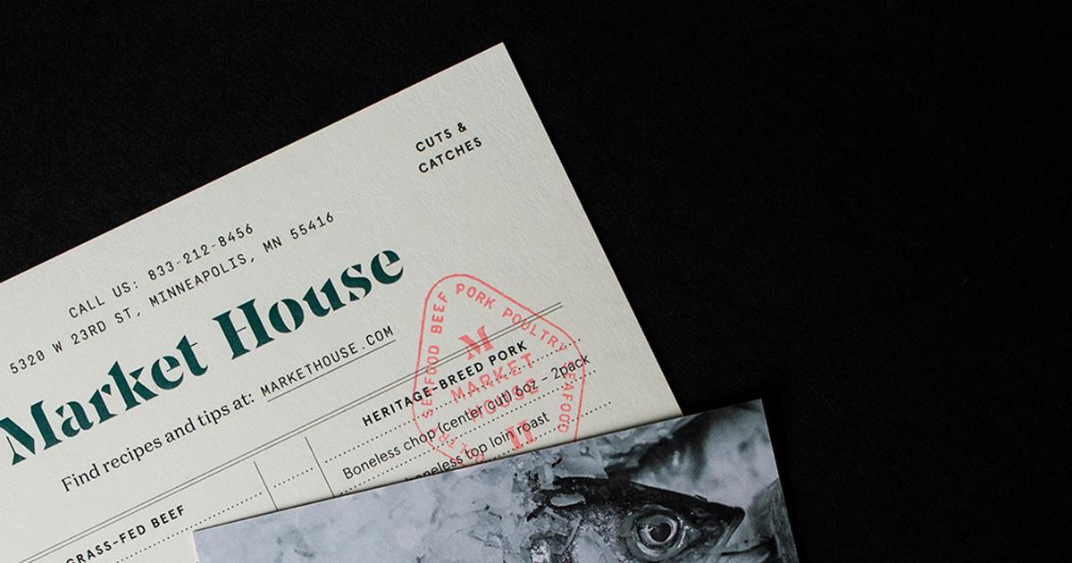 Market House - Khu chợ tập trung cung cấp thịt và hải sản cao cấp
