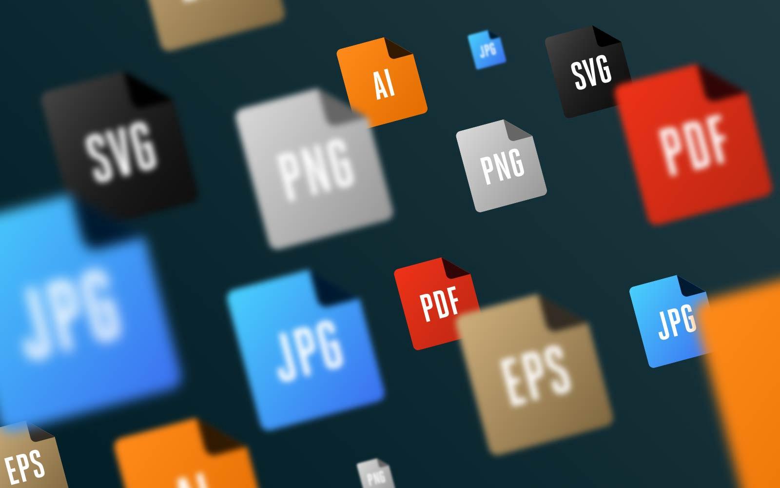 Cẩm nang sử dụng các định dạng file dành cho logo