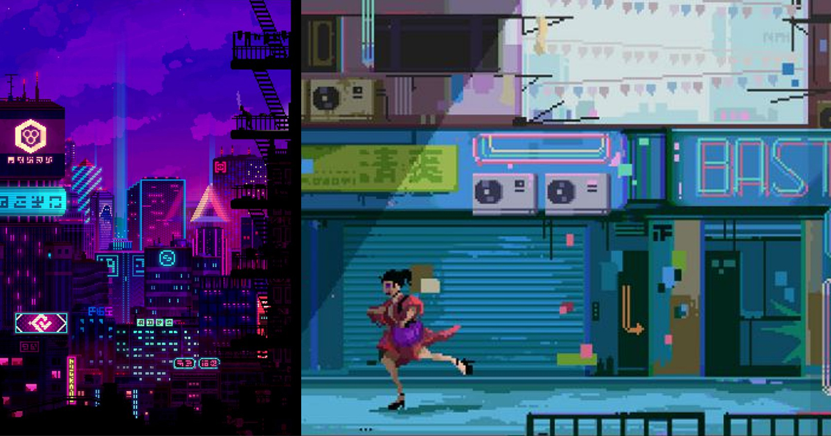 Cảm hứng Pixel art: Hơi thở retro từ phong cách đồ hoạ 8-bits