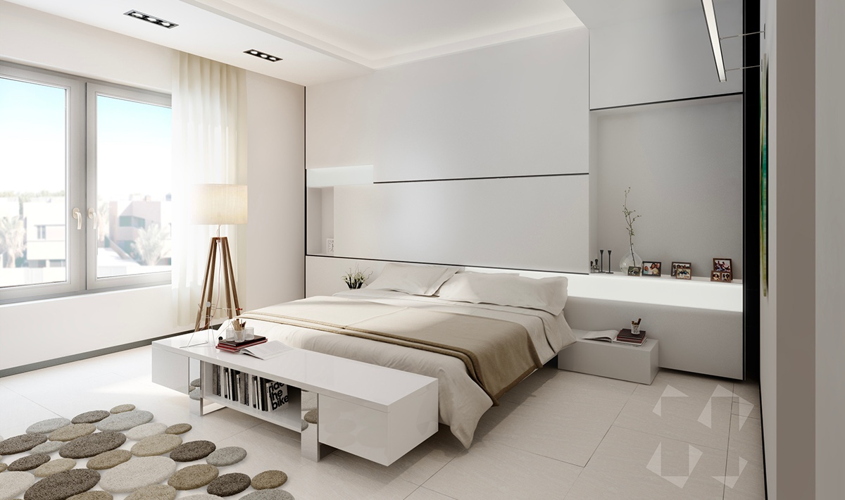 20 kiểu phòng ngủ dành cho tín đồ của phong cách tối giản