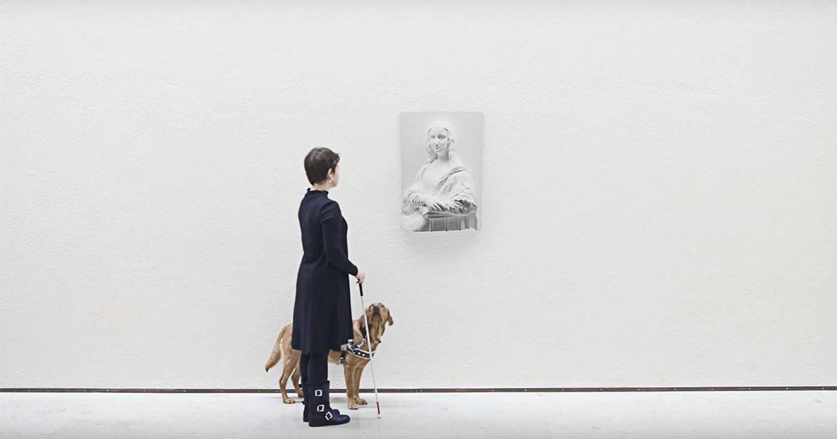 Người khiếm thị có thể sẽ được 'chiêm ngưỡng' những tuyệt tác nghệ thuật nhờ in 3D