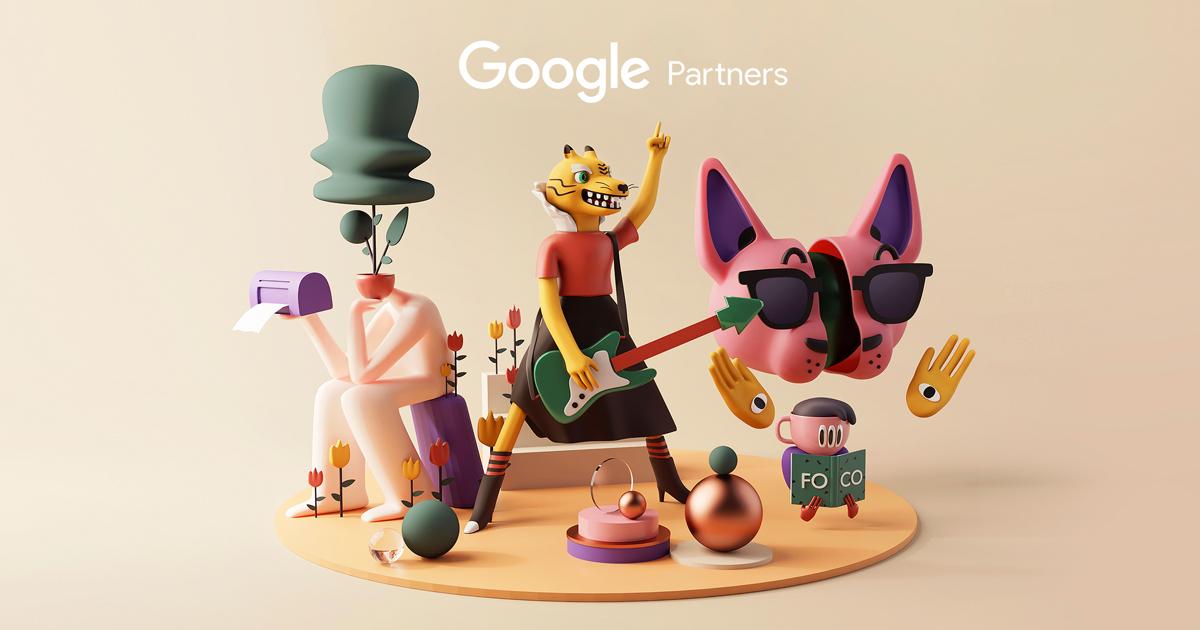 Bộ sticker 3D ngộ nghĩnh dành cho đối tác của Google