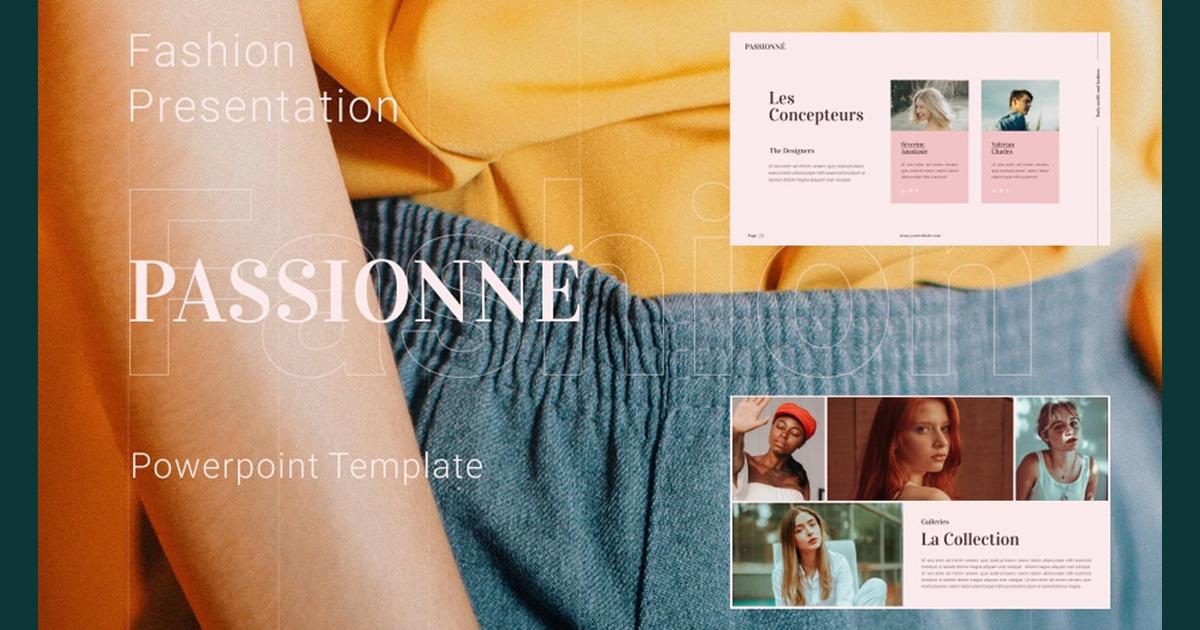 7 mẫu Powerpoint ấn tượng cho ngành thiết kế thời trang