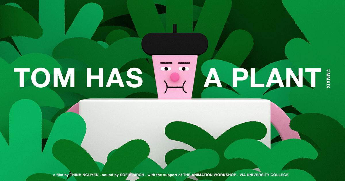 """""""Tom has a plant"""" của Thịnh Nguyễn tham dự LHP hoạt hình Annecy tại Pháp"""