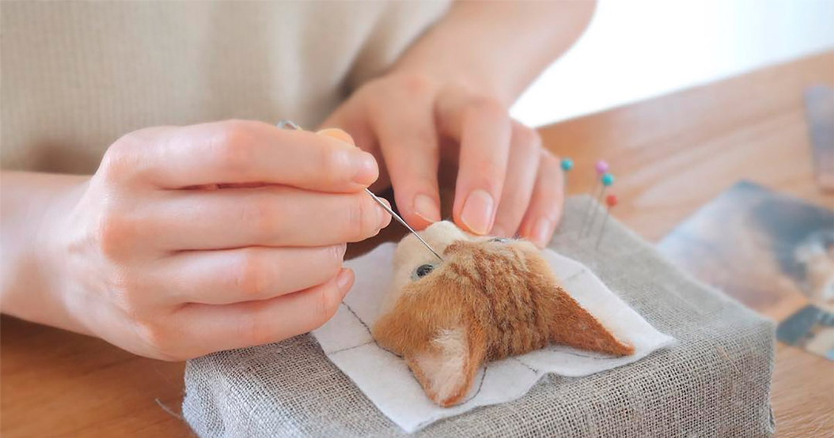 Nghệ thuật 'chọc bông' tạo nên những chú mèo chân thật đến kinh ngạc