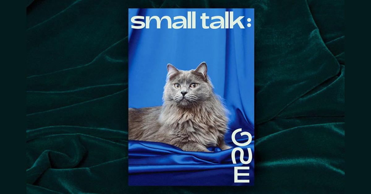 Adieu Smalls - Font chữ lấy cảm hứng từ hình dáng đuôi mèo