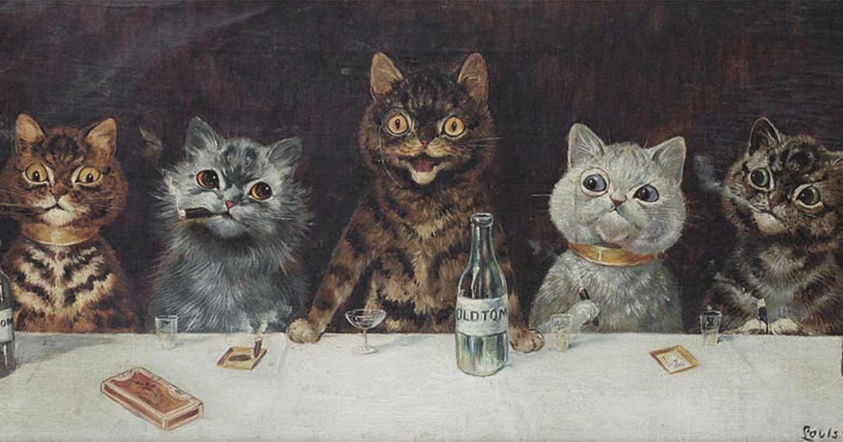 Loài mèo đã tiến hóa như thế nào trong lịch sử nghệ thuật thế giới?