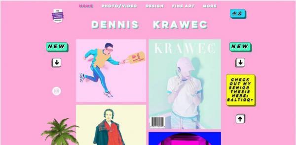 Hồ sơ năng lực- Portfolio online: 10 nhà thiết kế có hồ sơ chỉn chu